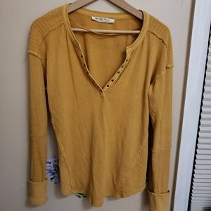 We The Free free people long sleeve top